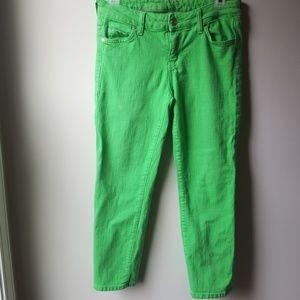 Kate Spade cropped slim fit play hooky jeans